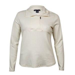 American Living Asymmetrical Half-Zip Sweater